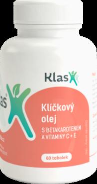 KLÍČKOVÝ OLEJ s betakarotenem, vitaminy C, E